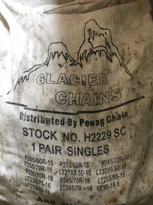 Glacier Chains Snow Chains for Sale in Lawndale, CA