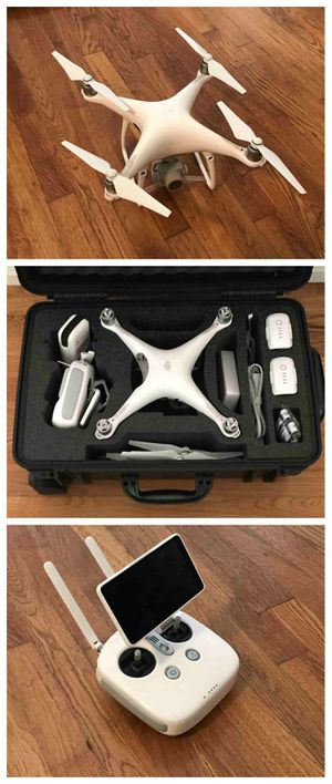 "FOR SALE !!! DJI Phantom 4 Pro Plus Camera Drone with 5.5"" Display - White for Sale in Clovis, CA"