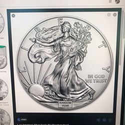 1 oz. Silver American Eagle Coin -various Years for Sale in Chandler,  AZ