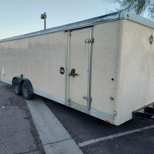 8 X 24 Wells Cargo Enclosed Car Hauler for Sale in Mesa, AZ