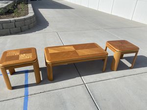 Coffee Table with two matching end tables for Sale in Bluffdale, UT
