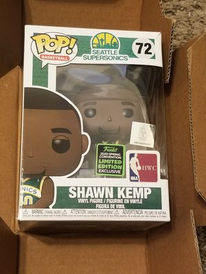 Funko Pop - Shawn Kemp (72) Seattle Supersonics, NBA HWC Basketball, 2020 Spring Comicon Convention Limited Exclusive, Grail, Vaulted, Rare, PPG Price for Sale in San Diego, CA