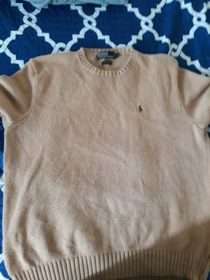 RALPH LAUREN POLO SWEATER SIZE XL (FITS LARGE ALSO) for Sale in Los Angeles, CA
