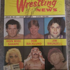 WWF Bob Backlund & Arnold Skaaland Autographs for Sale in Northport, NY