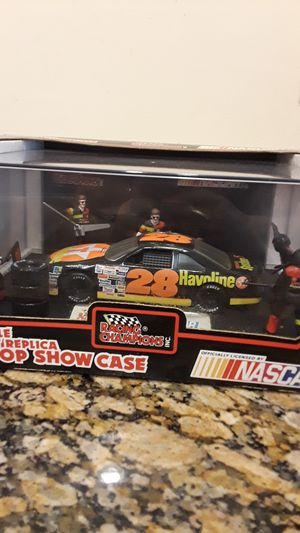 Nascar pit stop show case car collectable for Sale in Tampa, FL