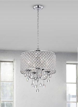 Brand New 4 Lights Crystal Chandelier for Sale in Fairfax, VA