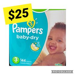 Pampers Size 3 for Sale in Long Beach,  CA