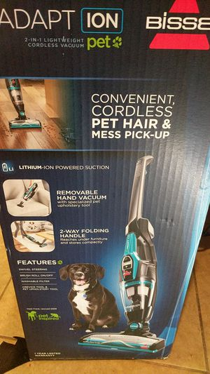 Bissell convenient, Cordless pet hair and mess pick-up for Sale in Phoenix, AZ