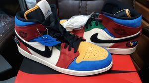 Nike air Jordan's 1 mid se frls na suede shoes NEW for Sale in Fair Oaks, CA