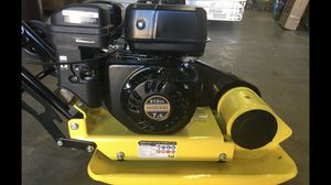 7.0 Hp Gasoline Plate Compactor Walk Behind Tamper Heavy Duty 4 Stroke Vibrate for Sale in Columbus, OH