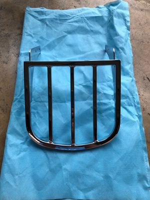 Triumph America motorcycle luggage rack for Sale in San Antonio, TX