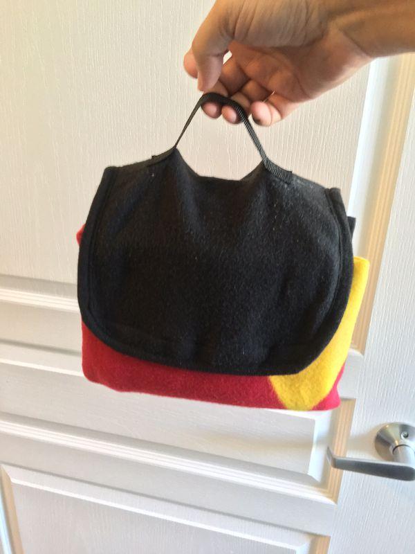 Harry Potter Gryffindor soft comforter (Mischief Managed) gift set