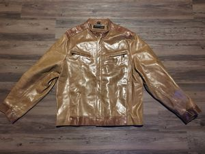 Kenneth Cole leather jacket (Size Large) for Sale in Columbus, OH