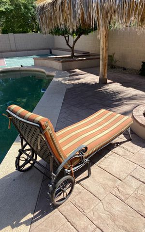 Outdoor Chaise Lounge Chair for Pool for Sale in Chandler, AZ