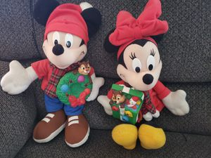 Mickey & minnie plushies. for Sale in Chula Vista, CA