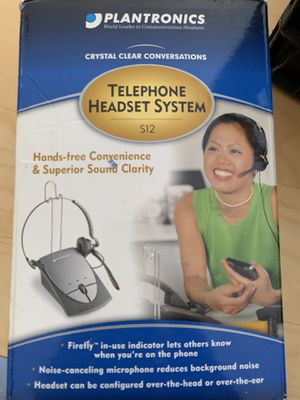 Telephone head set plantronics for Sale in Chandler, AZ