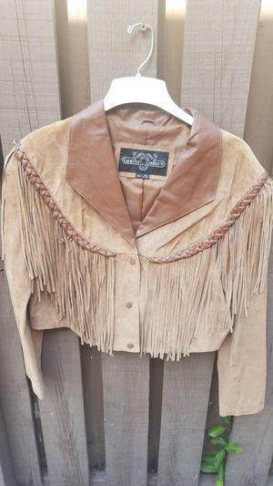 Suede Fringe Western Jacket for Sale in Palm Beach Gardens, FL