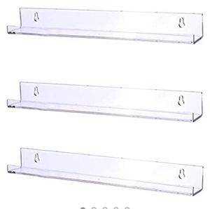 NEW ACRYLIC WALL SHELVES for Sale in Simpsonville, SC