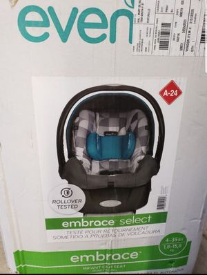 Car seat evenflo for new born for Sale in Fontana, CA