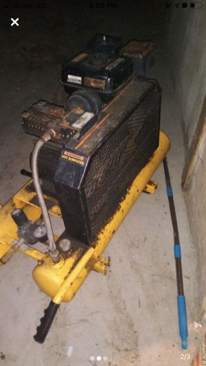 Dewalt gas air compressor for Sale in Garner, NC