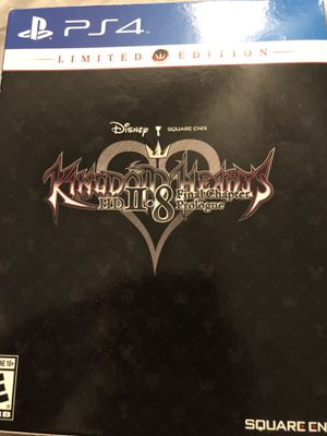 Kingdom Hearts 2.8 Final Chapter Prologue Limited Edition w/pin for Sale in Houston, TX