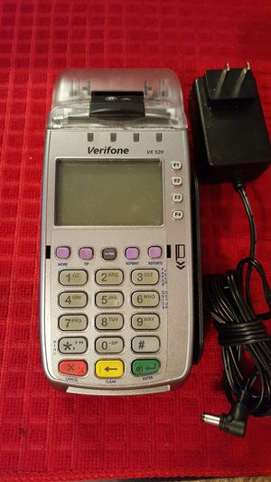 NEW CREDIT CARD TERMINAL VX520 for Sale in Boca Raton, FL
