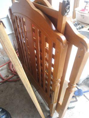 Crib (wood) for Sale in Austin, TX