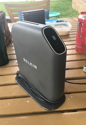 Belkin gaming/streaming wireless router for Sale in Munhall, PA