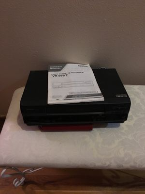 Symphonic video cassette recorder/player for Sale in Wichita, KS