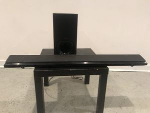 Sony 2018 Brand New Soundbar and Subwoofer. Model is SA-NT5. Retailed at $449 for Sale in Atlanta, GA