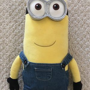 Brand New Kevin Minion Stuffed Toy - 20 Inches Tall - Despicable Me with clothes for Sale in Fairfax, VA