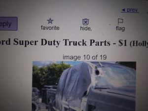 Ford f 350 250 7.3 exhaust doors fender for Sale in Hapeville, GA