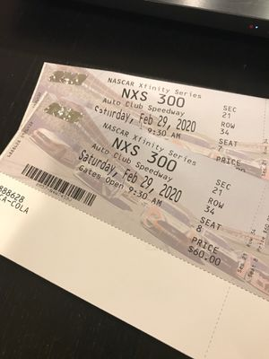 NXS 300 Tickets for Sale in DEVORE HGHTS, CA