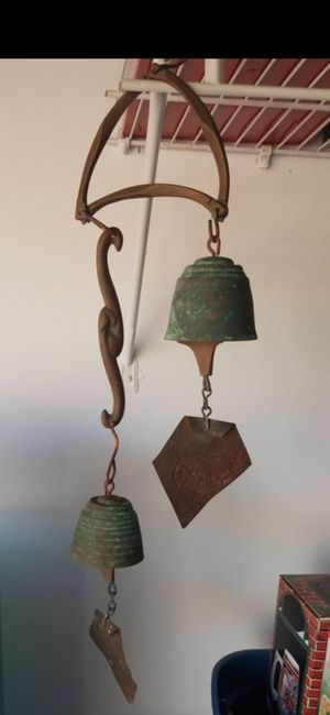 VINTAGE WIND CHIMES (Early Paolo Soleri Wind Bell in Cast Bronze ) 24 in for Sale in Delray Beach, FL