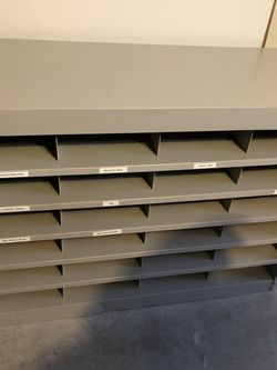 Grey Metal Cabinet for Sale in Round Rock,  TX