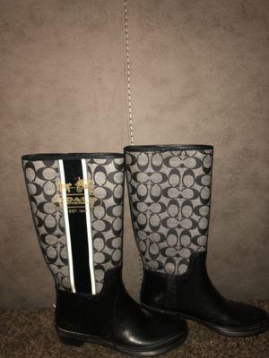 Coach rain boot 👢 for Sale in Victorville, CA