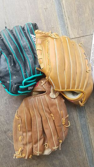 Baseball Gloves and Softballs for Sale in Barstow, CA
