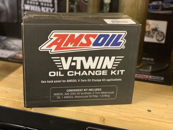 Amsoil V-twin and Harley Davidson oil change kit
