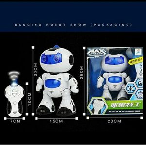 Electric Intelligent Robot Rotating RC Dancing Robot Walking Light Musical Kid Toy with Remote Control for Sale in Medford, MA