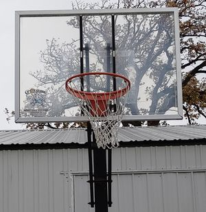 """Brand New 54"""" Goalrilla basketball hoop with everything needed to put up and start playing for Sale in Old Mill Creek, IL"""
