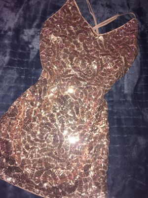 Sparkly dress rose gold 💖 for Sale in Chula Vista, CA