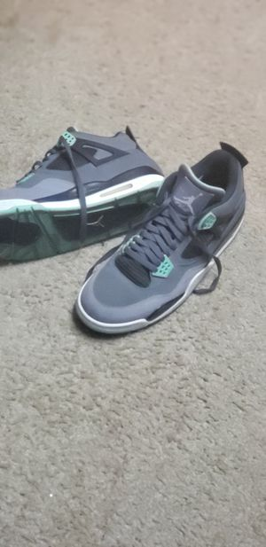 Authentic-Air Jordan 4 Retro 'Green Glow' size:12 for Sale in North Las Vegas, NV
