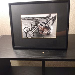 Motorcycle Black/White Classic Picture Frame for Sale in Riverside, CA