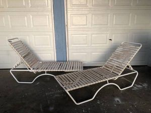 Pair of Chaise Lounge Chairs for Sale in Fresno, CA