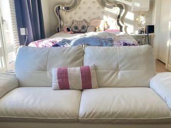 White Loveseat Sofa for Sale in Philadelphia,  PA