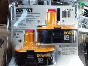 Dewalt 18V XRP BATTERY KIT for Sale in Baltimore, MD