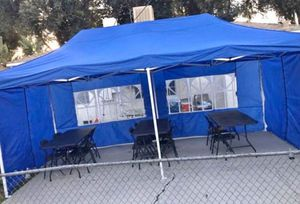 Brand New 10x20 Canopy Easy Pop up with Sidewalls / Carpa de 10x20ft for Sale in Chino, CA