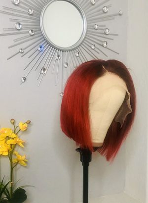 """10"""" Body Wave Red Bob Lace Frontal Wig- Available NOW for Sale in Laveen Village, AZ"""
