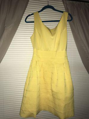 Yellow dress size L for Sale in Manassas, VA