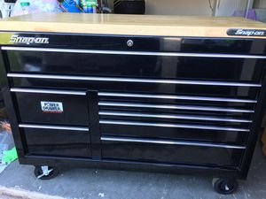 """55"""" Snap-On Box (Tools Included) for Sale in Houston, TX"""